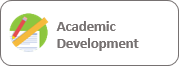 button to access the academic development course
